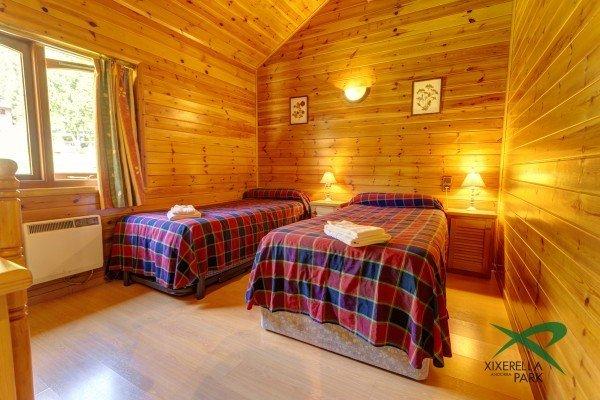 Bungalow per a 4 persones 2 habitacions