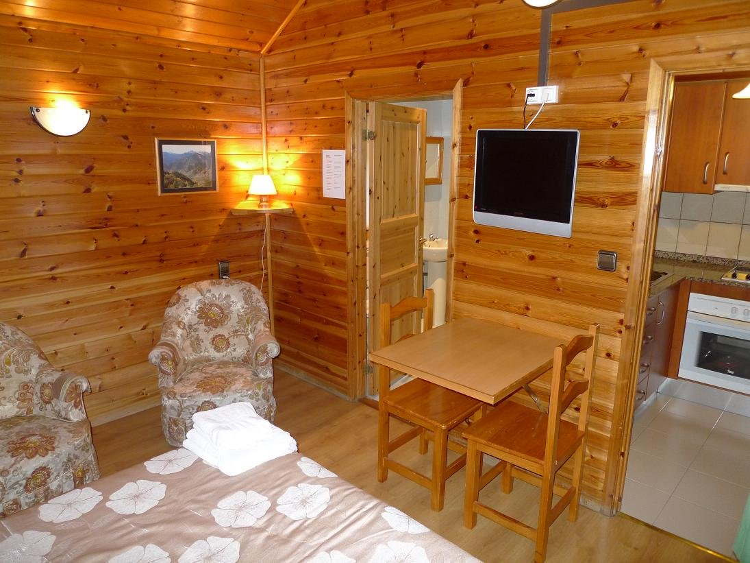 Bungalow 28 mts sense habitació 1-2 Persones